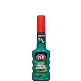 STP Moto Booster For Bike   200 ML | Cleans Combustion Chambers | Concentrated Cleaning Power Booste