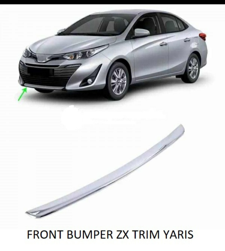 Toyota Yaris Front Zx Lip