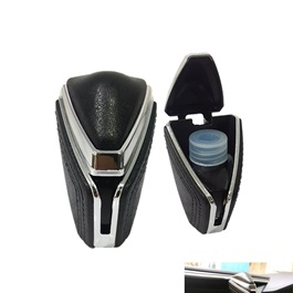 Leather Style AC Grille Car Perfume Fragrance   Mix Color