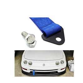 Car Front Bumper Strap Tow Hook   Blue | Towing Hook | Tow Hook Ribbon For Car | Modification Drift