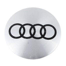 Audi Wheel Cap Logo Chrome   4 Pieces | Wheel Center Cap | Wheel Logo | Wheel Center Hub Caps | Whee