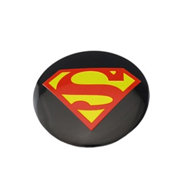 Superman Wheel Cap Logo   4 Pieces | Wheel Center Cap | Wheel Logo | Wheel Center Hub Caps | Wheel D