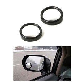 3D Blind Spot Convex Mirror Pair |  Wide Angle Round Convex Mirror Car Vehicle Side Blindspot Blind