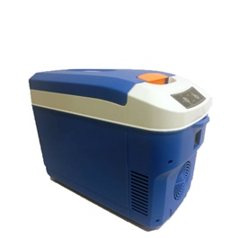 Portable Car Cool Box Fridge Blue 12 Liters 49W  Code 14365