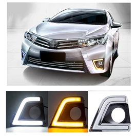 Toyota Corolla Smd Cob Drl Covers   Model 2014 2017