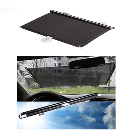 Front Screen Pvc Shade | UV Protection | Easy To Use | Rejects Sunlight | Flexible & Foldable | High