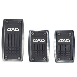 3D DAD Carbon Pedal Cover Manual | Cover Rubber Pedal Protective Cover | Car Styling Non Slip Car Pe