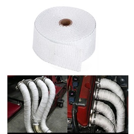 Heat Wrap Thermal For Engine And Exhaust Pipes | Car Exhaust Insulation Tapes Manifolds Heat Thermal