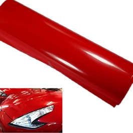 Red Vinyl Wrap Per Sq Ft | Car Vinyl Wrap Film | Car Wrapping | Vehicle Wrap