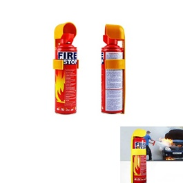 Fire Extinguisher Can Fire Stop   Each | Portable Size Lightweight Household Car Use  Fire Extinguis