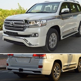 Toyota Land Cruiser Body Kit / Bodykit Front And Back Extender Taiwan   Model 2015 2019