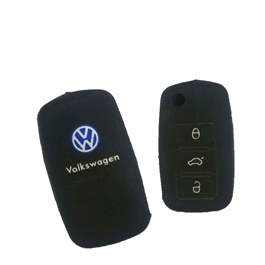 Volkswagen PVC / Silicone Protection Key Cover | Full Cover Remote Case Keyless Protector Jacket | S