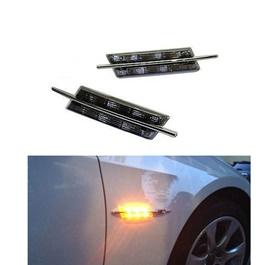 Side Fender Indicator Bmw Style | Side Fender Flash Marker Lamp Indicator | Steering Light Fender Si