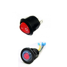 Universal Extra Switch Button For Operation Of Car Electronic Devices | On / Off Switch