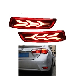 Toyota Corolla Lamborghini Style Running Brake Lamps   Model 2017 2020