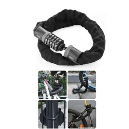 Bike And Motorcycle Security Password Lock | Wheel Up Bike Bicycle 5 Letters Code Lock Bicycle Acces