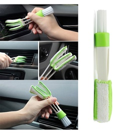 Detailing Brush 3 Way | Car Detail Tools Brush Long Durable 2 In 1 Double Slider Car Clean Auto Clea
