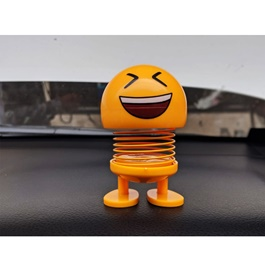 Bouncing Car Dashboard Smileys Emoji Emoticon Toy   Laughing
