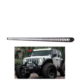 48 SMD Slim Style Roof LED Bar Light | High Accuracy Jeep Light | Sharp Light | Jeep Decoration Ligh