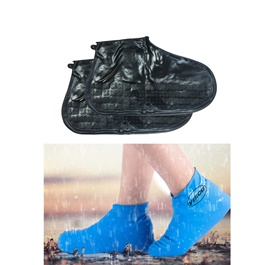Non Slip Fashion Rain Shoes Rubber Cover   Medium | Water Proof Shoe Protector