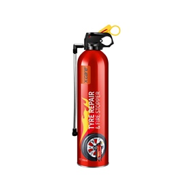 XCare Tyre Repair & Fire Stopper 950 ML  | X Care | Portable Size Lightweight Household Car Use Fire