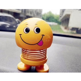 Bouncing Car Dashboard Smileys Emoji Emoticon Toy   Smile Face