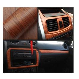 Wooden Wrap Per Sq Ft | Car Vinyl Wrap Film | Car Wrapping | Vehicle Wrap